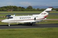 Photo: NetJets, Raytheon Hawker 800XP, CS-DRT