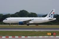 Photo: Strategic Airlines, Airbus A320, LX-STB