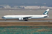 Photo: Cathay Pacific Airways, Boeing 777-300, B-HNK