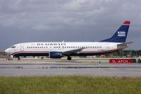 Photo: US Airways, Boeing 737-400, N404US