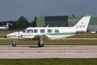 Photo: Channel Express, Piper PA-31-350 Navajo Chieftan, G-IFIT