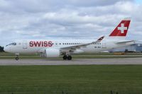 Photo: Swiss, Bombardier CSeries, HB-JBA