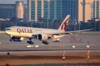 Photo: Qatar Airways, Boeing 777-200, A7-BBH