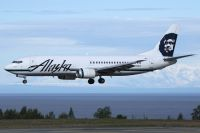 Photo: Alaska Airlines, Boeing 737-400, N762AS