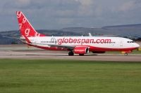 Photo: Flyglobespan, Boeing 737-800, G-DLCH