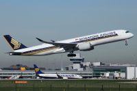 Photo: Singapore Airlines, Airbus A350, 9V-SMD