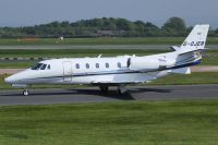 Photo: Untitled, Cessna Citation, G-OJER
