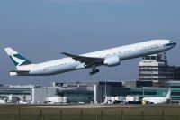 Photo: Cathay Pacific Airways, Boeing 777-300, B-KQZ