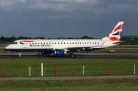 Photo: British Airways, Embraer EMB-190, G-LCYO