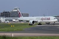Photo: Qatar Airways, Boeing 777-300, A7-BEA