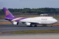 Photo: Thai Cargo, Boeing 747-400, HS-TGH