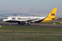 Photo: Monarch Airlines, Airbus A320, G-OZBK