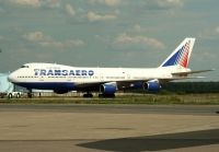 Photo: Transaero Airlines, Boeing 747-200, VP-BQA