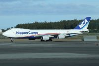 Photo: Nippon Cargo Airlines - NCA, Boeing 747-800, JA15KZ