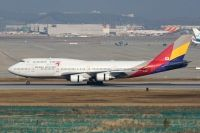 Photo: Asiana Airlines, Boeing 747-400, HL7418