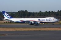 Photo: Nippon Cargo Airlines - NCA, Boeing 747-400, JA13KZ