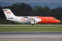 Photo: TNT, British Aerospace BAe 146-300, OO-TAJ