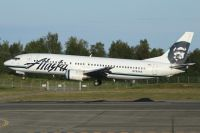 Photo: Alaska Airlines, Boeing 737-400, N793AS