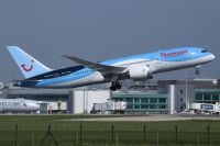 Photo: Thomson Holidays, Boeing 787, G-TUIH