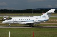 Photo: Untitled, Raytheon Hawker 850XP, M-FRZN
