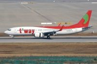 Photo: T Way, Boeing 737-800, HL8268