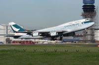 Photo: Cathay Pacific Airways, Boeing 747-400, B-HUD