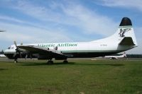 Photo: Atlantic Airlines, Lockheed L-188 Electra, G-FIZU