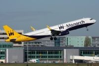 Photo: Monarch Airlines, Airbus A321, G-ZBAM
