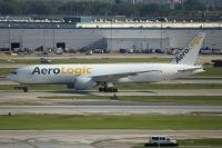 Photo: AeroLogic, Boeing 777-200, D-AALE