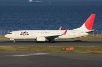 Photo: Japan Airlines - JAL, Boeing 737-800, JA322J