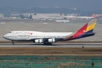 Photo: Asiana Airlines, Boeing 747-400, HL7421