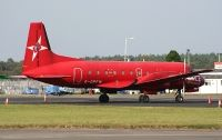 Photo: Parcelforce, Hawker Siddeley HS-748, G-OPFW