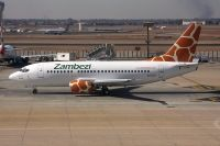 Photo: Zambezi Airlines, Boeing 737-500, 9J-ZJA