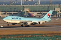 Photo: Korean Air, Boeing 747-400, HL7498