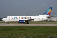 Photo: Small Planet Airlines, Boeing 737-300, LY-FLH