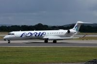 Photo: Adria Airways, Canadair CRJ Regional Jet, S5-AAN