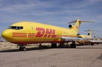 Photo: DHL, Boeing 727-200, N754DH