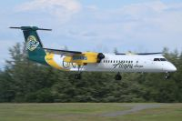Photo: Alaska Airlines, De Havilland Canada DHC-8 Dash8 Series 400, N443QX