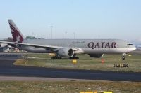 Photo: Qatar Airways, Boeing 777-300, A7-BAB