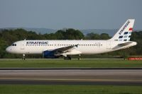 Photo: Strategic Airlines, Airbus A320, LX-STA