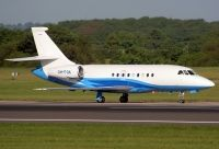 Photo: Untitled, Dassault Falcon 2000, OH-FOX