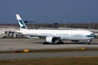 Photo: Cathay Pacific Airways, Boeing 777-300, B-HNG