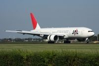 Photo: Japan Airlines - JAL, Boeing 777-200, JA705J
