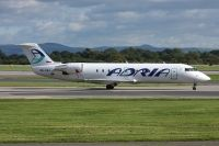 Photo: Adria Airways, Canadair CRJ Regional Jet, S5-AAJ