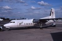 Photo: Afrijet, Fairchild FH-227, 5N-BCC