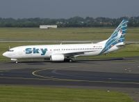 Photo: Sky Airlines, Boeing 737-800, TC-SKH