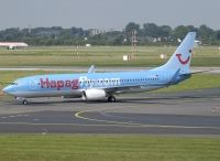 Photo: HapagFly, Boeing 737-800, D-ATUH