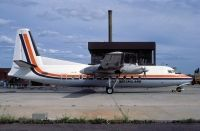 Photo: Air Queensland, Fokker F27 Friendship, VH-TQT