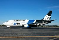 Photo: OzJet Airlines, Boeing 737-200, VH-OZU