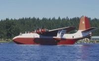 Photo: Forest Industries Flying Tankers, Martin JRM-3 Mars, C-FLYL